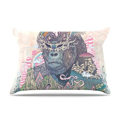 Ceremony Fantasy Gorilla by Mat Miller Cotton Pillow Sham