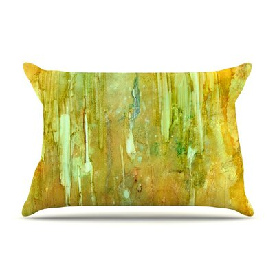 Rock City by Rosie Yellow Painting Featherweight Pillow Sham