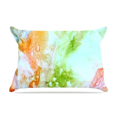 November Rain by Rosie Green Orange Featherweight Pillow Sham