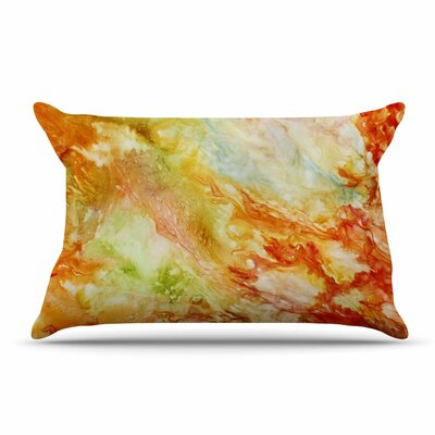 Autumn Breeze by Rosie Brown Cotton Pillow Sham