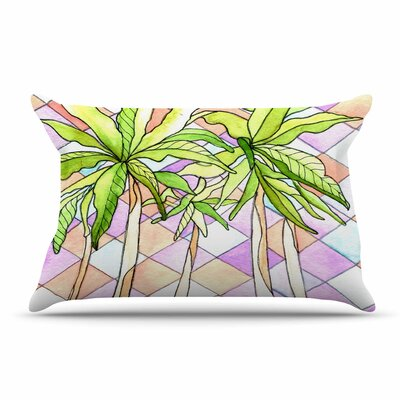 Geometric Tropic by Rosie Brown Featherweight Pillow Sham