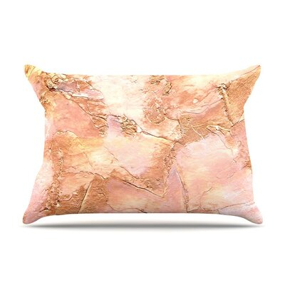 Bronze It by Rosie Orange Paint Featherweight Pillow Sham