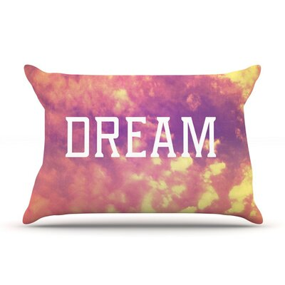 Dream by Rachel Burbee Orange Featherweight Pillow Sham