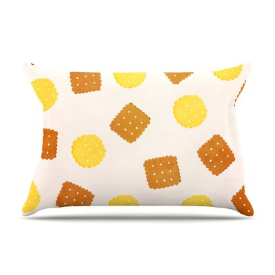 Do You Love Biscuits? by Strawberringo Cotton Pillow Sham