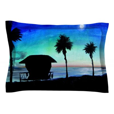 Carlsbad State Beach by Theresa Giolzetti Featherweight Pillow Sham