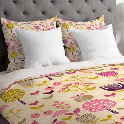 Retro Orchard Duvet Cover