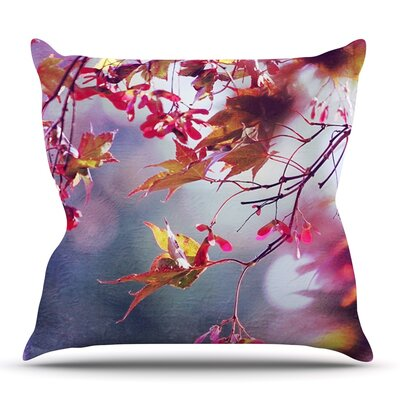 Autumn by Sylvia Cook Outdoor Throw Pillow