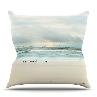 Flight by Sylvia Cook Outdoor Throw Pillow