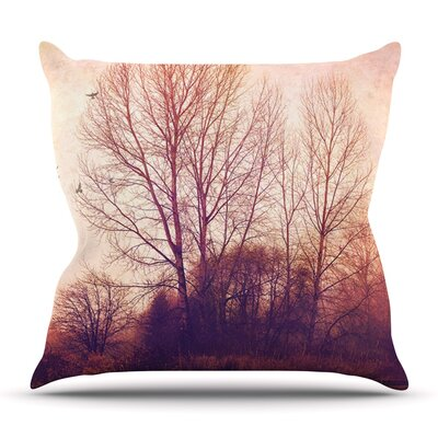 Explore by Sylvia Cook Outdoor Throw Pillow