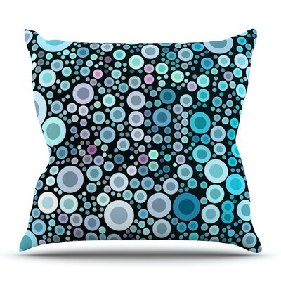 Aquatic by Sylvia Cook Outdoor Throw Pillow