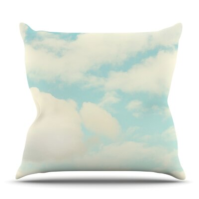 Clouds by Sylvia Cook Outdoor Throw Pillow