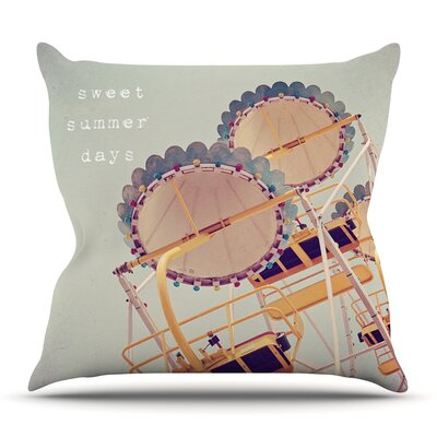Sweet Summer Days by Susannah Tucker Outdoor Throw Pillow