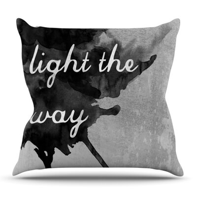 Bridges by Skye Zambrana Outdoor Throw Pillow