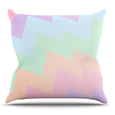 Blaze by Catherine McDonald Outdoor Throw Pillow