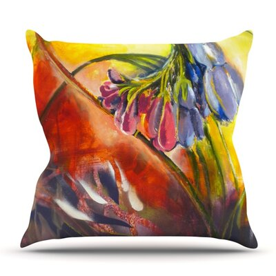 Progression by Kristin Humphrey Outdoor Throw Pillow