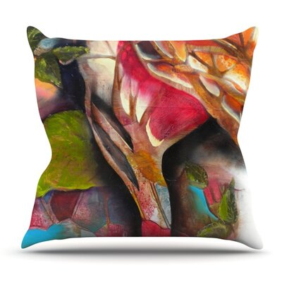 Glimpse by Kristin Humphrey Outdoor Throw Pillow