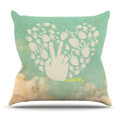 Serenity Outdoor Throw Pillow