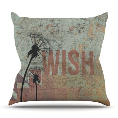 Wish Outdoor Throw Pillow