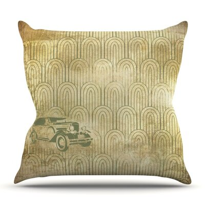Car Outdoor Throw Pillow