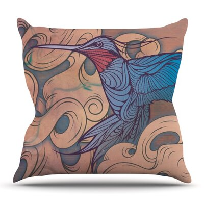 The Aerialist by Mat Miller Outdoor Throw Pillow