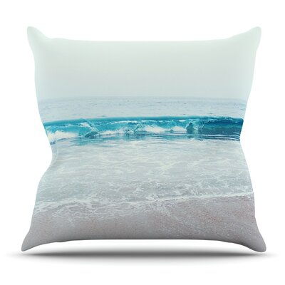 Crystal Clear by Nastasia Cook Outdoor Throw Pillow Size: 18 H x 18 W x 8 D