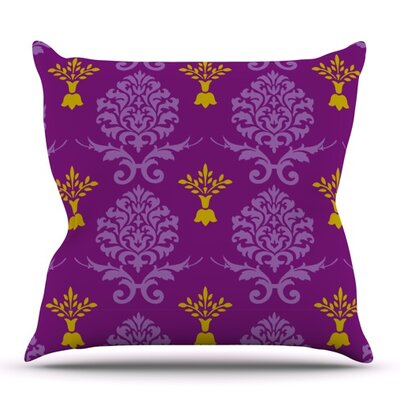 Crowns by Nicole Ketchum Outdoor Throw Pillow