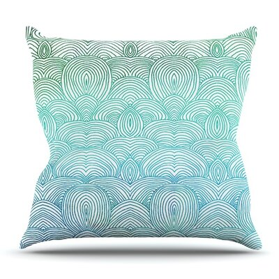Clouds in the Sky by Pom Graphic Design Outdoor Throw Pillow