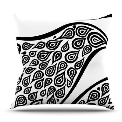 Bird in Disguise by Pom Graphic Design Outdoor Throw Pillow