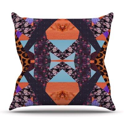 Pillow Kaleidoscope by Vasare Nar Outdoor Throw Pillow