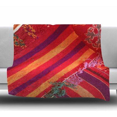 Jexiste by Luvprintz Fleece Blanket Size: 50 W x 60 L
