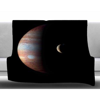 Jupiter by Alias Fleece Blanket Size: 50 W x 60 L