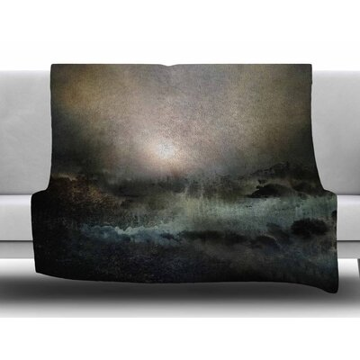Calling The Sun II by Viviana Gonzalez Fleece Blanket Size: 50 W x 60 L