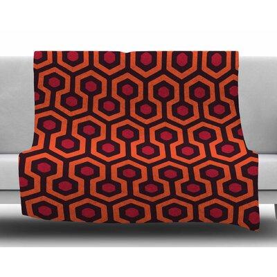 The Overlook By Alias Fleece Blanket Size: 80 L x 60 W x 1 D