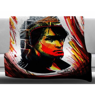 Tsoi is Alive by Ivan Joh Fleece Blanket Size: 60 W x 80 L