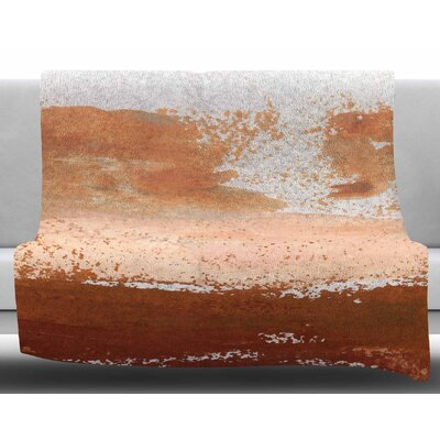 Cinnamon Chi by Iris Lehnhardt Fleece Blanket Size: 60 W x 80 L