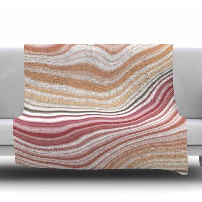 Sunset Brick Fleece Blanket Size: 60 W x 80 L