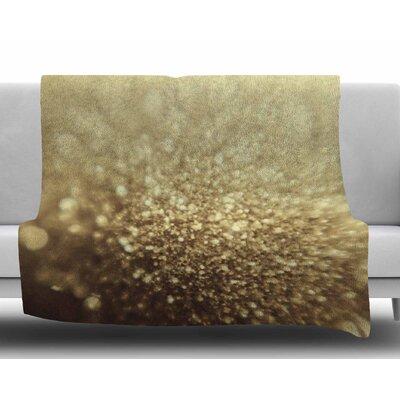 Glitterati by Chelsea Victoria Fleece Blanket Size: 60 W x 80 L