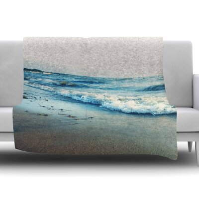 Beyond the Sea by Chelsea Victoria Fleece Blanket Size: 60 W x 80 L