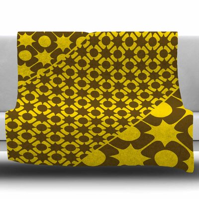 Pop By Nacho Filella Fleece Blanket Size: 80 L x 60 W x 1 D