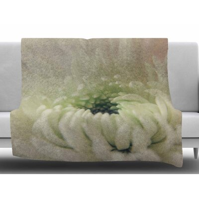 Pure Petals by Angie Turner Fleece Blanket Size: 50 W x 60 L