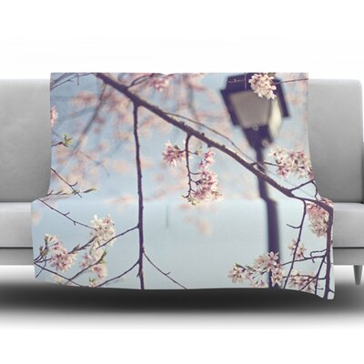 Walk with Me by Catherine McDonald Fleece Blanket Size: 60 W x 80 L
