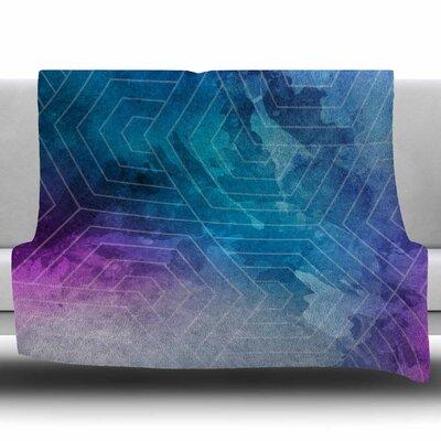 Going Home by Matt Eklund Fleece Blanket Size: 50 W x 60 L