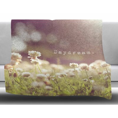 Day Dream by Angie Turner Fleece Blanket Size: 50 W x 60 L