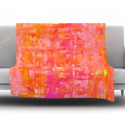 Wiggle by CarolLynn Tice Fleece Blanket Size: 60 W x 80 L
