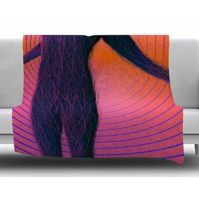 Human Soul by Danny Ivan Fleece Blanket Size: 50 W x 60 L