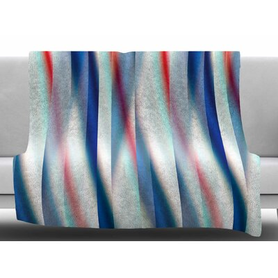 Ambient by Bruce Stanfield Fleece Blanket Size: 60 W x 80 L