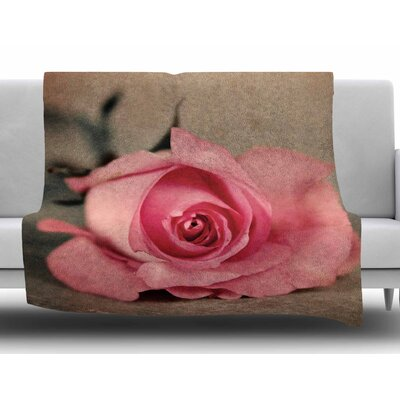 A Touch Of Romance by Angie Turner Fleece Blanket Size: 60 W x 80 L