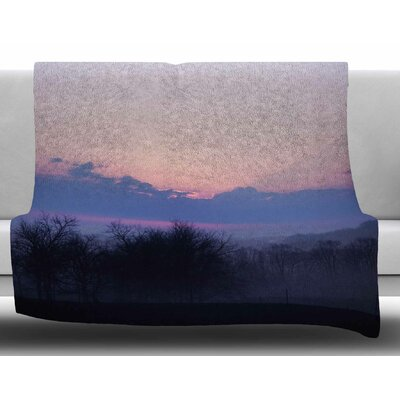 Sunrise by Angie Turner Fleece Blanket Size: 60 W x 80 L