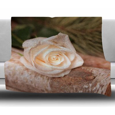 Rustic Romance by Angie Turner Fleece Blanket Size: 50 W x 60 L