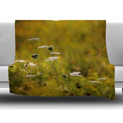 Golden Hour by Angie Turner Fleece Blanket Size: 50 W x 60 L